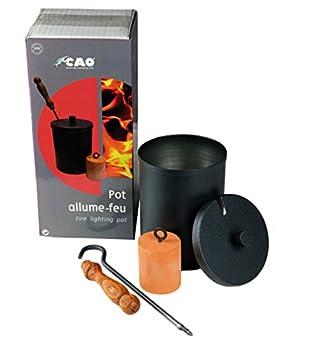 Cao 1273 Pot Allume-feu Adulte Unisexe, 15,6x11cm