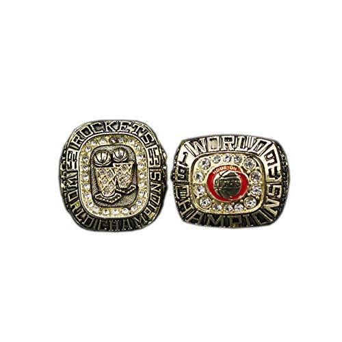 TYTY NBA Houston Rockets 1994 1995 Basketball Professional League 2 Anillos de Campeonato,Without Box,11#