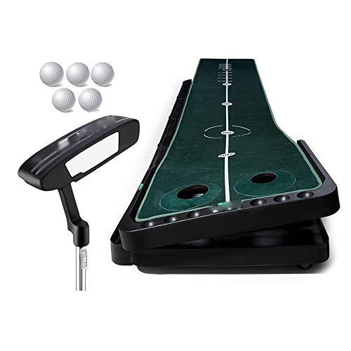 Find Bargain NDY Golf Putter Exerciser, Indoor Golf Practice Blanket, 360 ° Adjustment of Slope and...