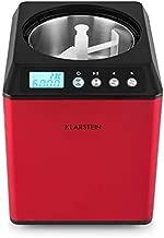 Klarstein Vanilla Sky Red Edition - Heladera, Máquina para
