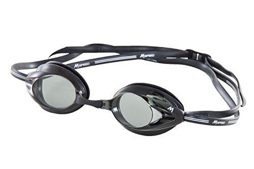 Mosconi - Gafas Natación Speed Efecto Aumado Antifog Hermetico, ideales para entrenamiento y competición, Ajustable Incluye Estuche