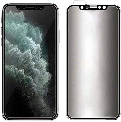 RiverFinn For iPhone Ceramic Privacy Soft Film, For iPhone Ceramic Privacy Soft Film with Transparent Lens Protective Film (For iPhone 12)-For iPhone 12pro max