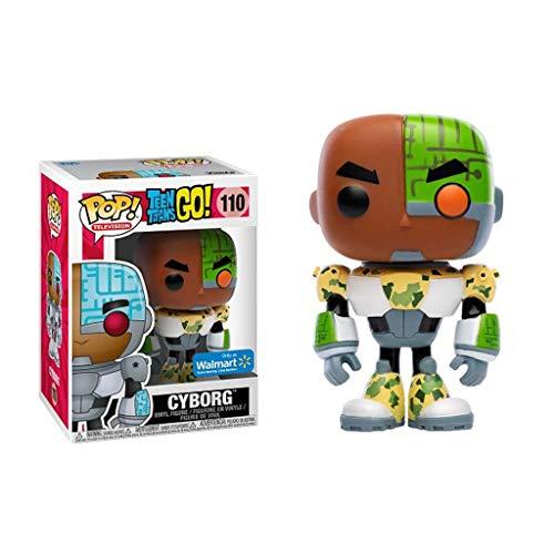 KYYT Funko Teen Titans Go! #110 Cyborg Pop! Chibi
