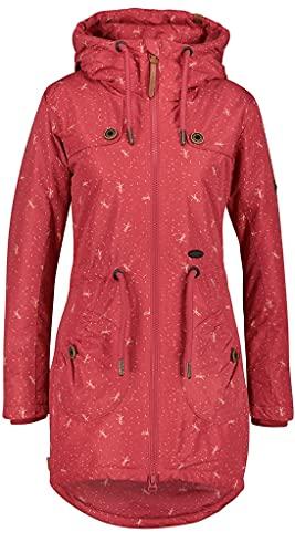 ALIFE and Kickin CharlotteAK A Coat Damen Langjacke, Cranberry, L