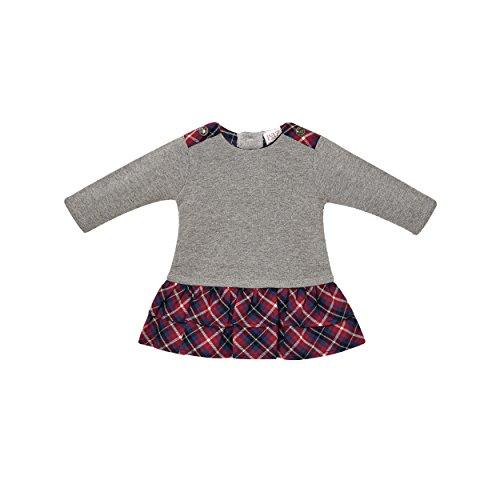 PAZ Rodriguez 004-69464 Vestido, Multicolor (Vapor), Recién Nacido (Tamaño del Fabricante:3M) para Bebés