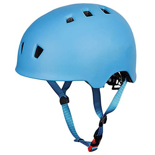 Kinder-Fahrradhelm, Outdoor, Multifunktionshelm,  Auto Helm Freizeit Radfahren Sport , blau, L(57