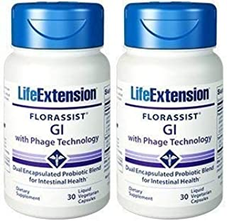 Life Extension FLORASSIST GI with Phage Technology (60 Liquid Capsules)
