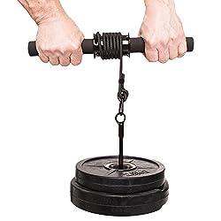 Unterarmtrainer mit Gewichten