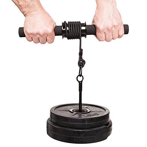 C.P. Sports Trainingshilfen Profi Unterarmtrainer, Chrom, One size