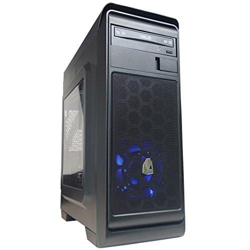 NITROPC - PC Gamer Nitro X *Rebajas DE Junio* (CPU Quad-Core 4 x 3,80Ghz, T. Gráfica R7 2GB, HDD 1Tb, Ram 16GB + Windows 10 64 bits Prel.) + WiFi de Regalo. pc Gamer, pc Gaming, Ordenador para Juegos