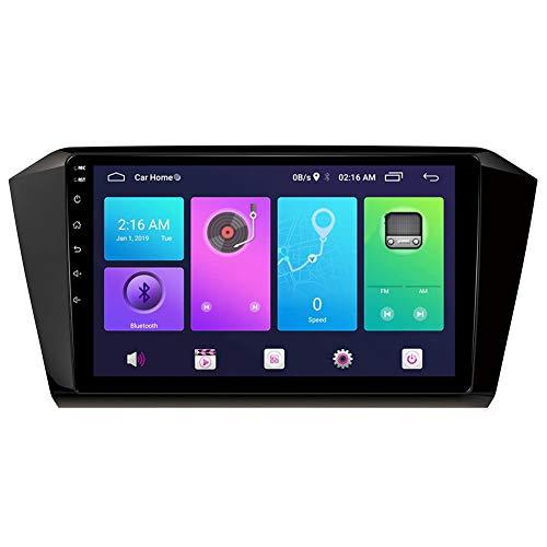 LINNJ Navegación de Coche Android Car Stereo Sat Nav para Volkswagen MAGOTAN CC 2016-2017 Unidad Principal Sistema de navegación GPS SWC 4G WiFi BT USB Mirror Link Carplay Incorporado