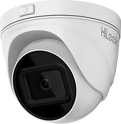 HiLook By Hikvision IPC-T641H-Z 4MP Vari-Focal Gemotoriseerde Lens IP PoE Netwerk Turret Camera met 30m Nachtzicht - Wit