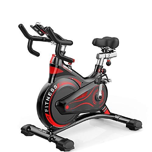 Bicicleta Estática Para Interiores, Bicicleta Estacionaria Con Monitor De Frecuencia Cardíaca Y Monitor LCD, Cómodo Cojín Del Asiento, Bicicleta Cardiovascular, Equipo Para Adelgazar Y Adelgazar,A
