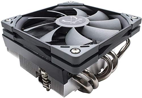 Scythe Big Shuriken 3 CPU Air Cooler, 120mm Low Profile(69mm Tall), Intel LGA1151, AMD AM4/Ryzen