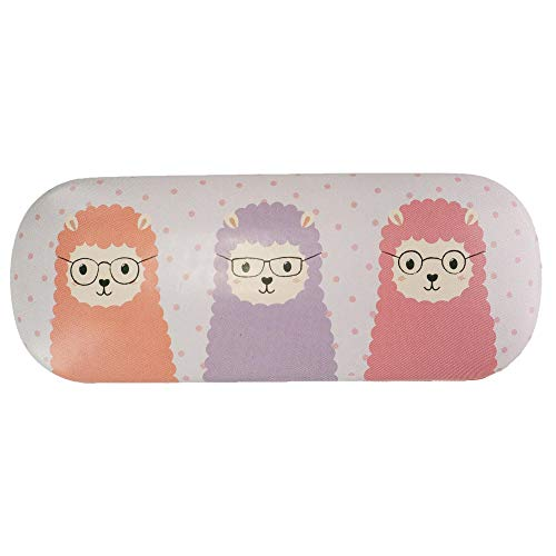 Sass & Belle Little Llama Glasses Case Sunglasses Hard Case Pastel Colours Cute Girly