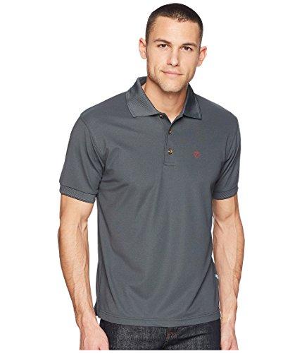 Fjallraven Crowley Pique Shirt, Mountain Grey, XXL Mens