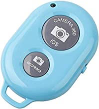 Wireless Camera Remote Bluetooth Shutter For iPhone Samsung HTC Sony IOS Android S5 Note3 Blue