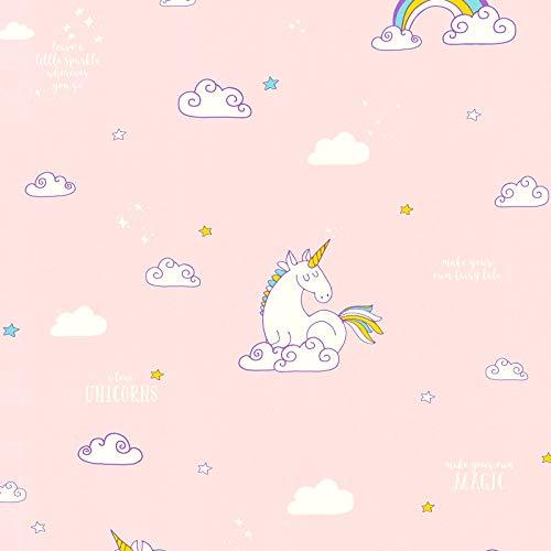 Papiertapete Moderne Tapeten Schöne Tapeten Tapeten-Trends Tapete Kinderzimmer 361582 36158-2 A.S. Création Boys & Girls 6 | Blau Gelb Pink/Rosa | Rolle (10,05 x 0,53 m) = 5,33 m²