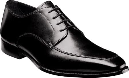 Florsheim Men's Jacobi Moc Oxford,Black Leather,US 9 D