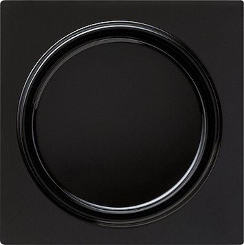 Gira 065047 Abdeckung Drehdimmer S, schwarz