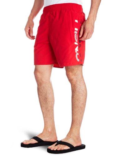 O 'Neill PM SOLID Logo Herren Boardshorts Medium rot - rot