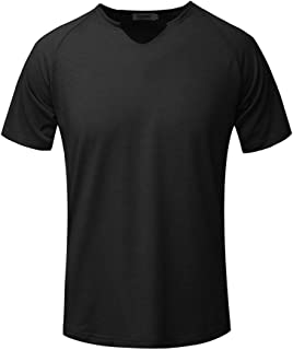 Fashion Men's Short Sleeve Solid Comfortable Casual Slim T-Shirt Sport Tops 2019 Summer New T-shirt Momoxi