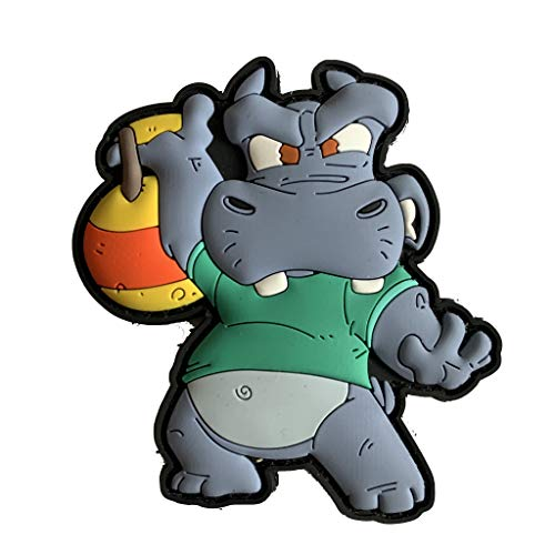 Cross Workout Fitness Hippo Squad - Kettle Bell Snatch Patch