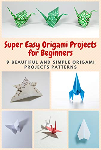 Super Easy Origami Projects for Beginners: 9 Beautiful and Simple Origami Projects Patterns (English Edition)