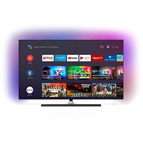 Philips 8 Series 65OLED865/12 Televisor 165,1 cm (65') 4K Ultra HD Smart TV WiFi Gris 8 Series 65OLED865/12, 165,1 cm (65'), 3840 x 2160 Pixeles, OLED, Smart TV, WiFi, Gris