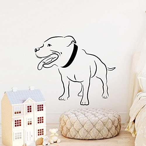 Tianpengyuanshuai Grappige hond muur Stickers Home Decoratie Woonkamer Muurdecoratie Vinyl