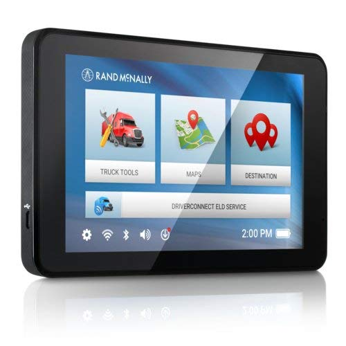 Rand McNally TND 740 IntelliRoute Truck Navigation GPS with 7in HD Vibrant Display (Renewed)