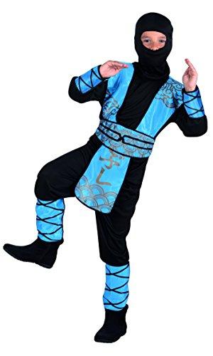 Boland Déguisement pour Enfant Royal Ninja 7-9 Anni Bleu