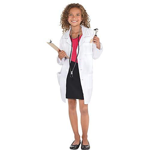 Amscan 849653 - Abrigo de laboratorio para niños, tamaño mediano