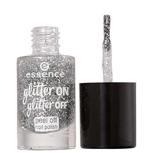 Essence, Nagelfüllung (Glitter on glitter peel off 1) - 1 Stück