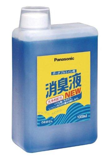 パナソニック ポータブルトイレ用消臭液 (1L) ×6個セット 6119-2402 有色(VALTBL1LB)