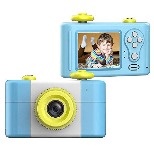 Blu CamKing Kids Fotocamera Digitale,K6 2.7 Pollici Screen Cartoon Camera Digitale per Bambini