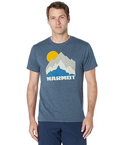 Marmot Tower Shirt pour Homme, Bleu Marine, m