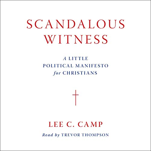 Scandalous Witness audiobook cover art