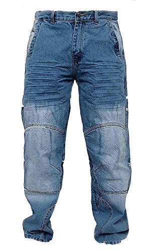 Newfacelook motorradhose Rüstungen motorrad Hose Jeans Kommt mit Aramid verstärkt Schutzauskleidung W32-L34