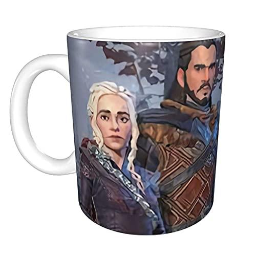 Hirola Juego de Tronos Tazas de cerámica para café, leche y té,...