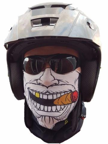 Salt Armour 'Original SA Company dagli USA Gangster Fazzoletto da Collo Maschera Tubo Sciarpa, Protezione dal Freddo Maschera Halloween Motociclo Sci Snowboard Bicicletta Caccia Pesca Paint Ball