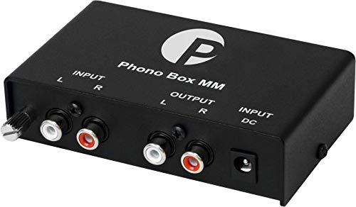 Pro-Ject Phono Box MM DC Phonograph Preamplifier
