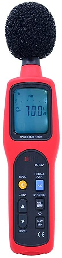 GYZX Sound Level Meter Digital Philadelphia Complete Free Shipping Mall Tester Noise 30-130dB Mon Decibel