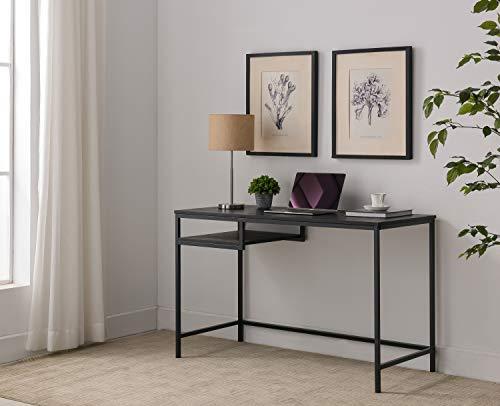 kings furniture pc brands Kings Brand Furniture - Julian Writing/Laptop Desk, Black Metal & Wood