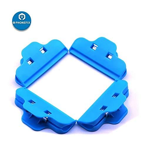 RAQ 4 stks Plastic Clip Bevestiging Klem LCD Scherm Reparatie Houder voor iPhone iPad Reparatie Gereedschappen Blauw