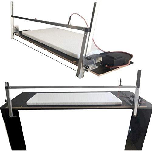 Styroporschneidegerät Styroporschneider Thermosäge Styropor Cutter Werkzeuge + 5 Extra Glühdrähte - Wählen Sie aus S/L/XL/XXL (XL - 135 cm)