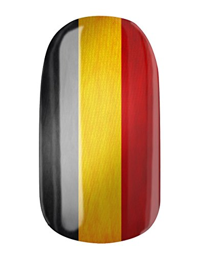 Pellicola per unghie, autoadesiva, con design personalizzato di Glamstripes, made in Germany. 12 Nail Wraps estremamente resistenti con lunga durata.