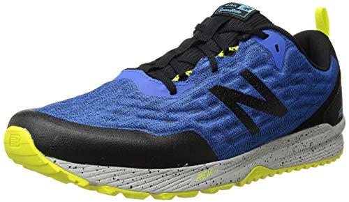New Balance Men's Nitrel V3 Running Shoe, Cobalt Black, 14 2E US
