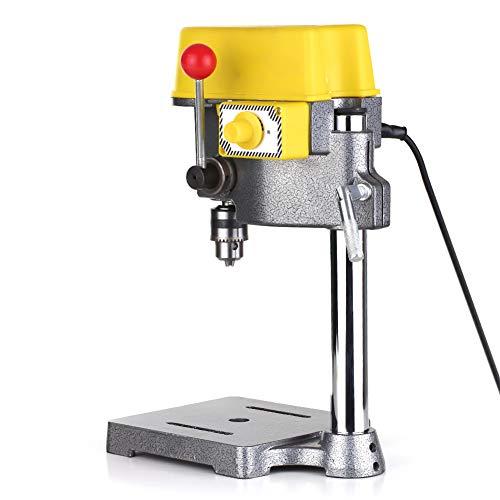 WLL Taladro de Columna de Velocidad con Interruptor de regulación de Velocidad, fácil operación y Buena Estabilidad, Adecuado para carpinteros, mecánicos, hogar, Taller, Manualidades