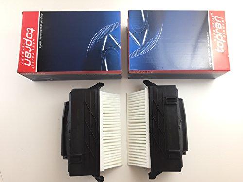2 x Luftfilter/Set Topran Germany W212 W204 W221 W164 W251 300 CDI 350 CDI - bitte Zuordnungsliste beachten